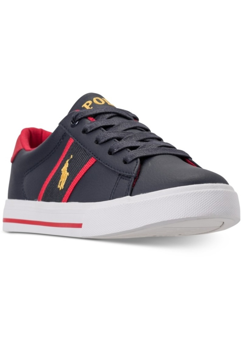 1fdb56e6af Polo Ralph Lauren Little Boys' Geoff Casual Sneakers from Finish Line