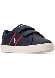 Ralph Lauren: Polo Polo Ralph Lauren Little Boys' Geoff Ez Casual Sneakers from Finish Line