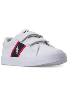 Ralph Lauren: Polo Polo Ralph Lauren Little Boys' Geoff Ez Casual Sneakers from Finish Line