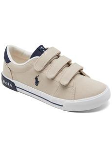 Ralph Lauren: Polo Polo Ralph Lauren Little Boys Graftyn Casual Sneakers from Finish Line