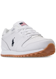 Ralph Lauren: Polo Polo Ralph Lauren Little Boys' Oryion Casual Sneakers from Finish Line