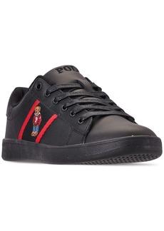 Ralph Lauren: Polo Polo Ralph Lauren Little Boys' Quilton Bear Casual Sneakers from Finish Line