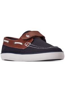 Ralph Lauren: Polo Polo Ralph Lauren Little Boys' Sander Ez Casual Sneakers from Finish Line
