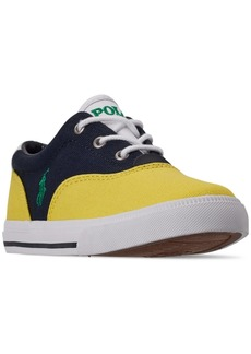 33f723259 Ralph Lauren  Polo Polo Ralph Lauren Little Boys  Vaughn Ii Casual Sneakers  from Finish