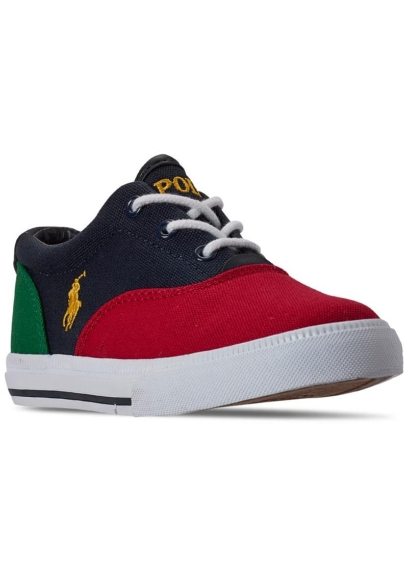 Ralph Lauren: Polo Polo Ralph Lauren Little Boys Vaughn Ii Casual Sneakers from Finish Line