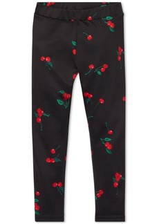 Ralph Lauren: Polo Polo Ralph Lauren Little Girls Cherry-Print Jersey Leggings