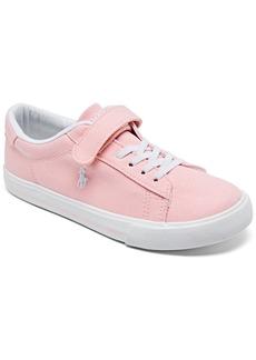 Ralph Lauren: Polo Polo Ralph Lauren Little Girls Easten 2 Casual Sneakers from Finish Line