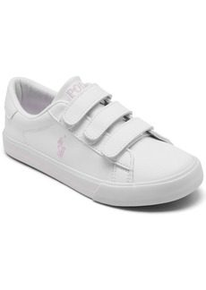 Ralph Lauren: Polo Polo Ralph Lauren Little Girls Easten Ii Ez Stay-Put Casual Sneakers from Finish Line