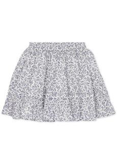 Ralph Lauren: Polo Polo Ralph Lauren Toddler Girls Floral-Print Cotton Skirt
