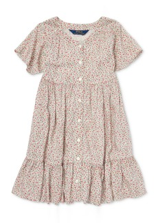 Ralph Lauren: Polo Polo Ralph Lauren Little Girls Floral-Print Woven Dress