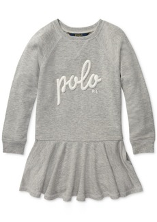 Ralph Lauren: Polo Polo Ralph Lauren Little Girls French Terry Dress