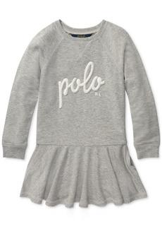 Ralph Lauren: Polo Polo Ralph Lauren Toddler Girls French Terry Dress