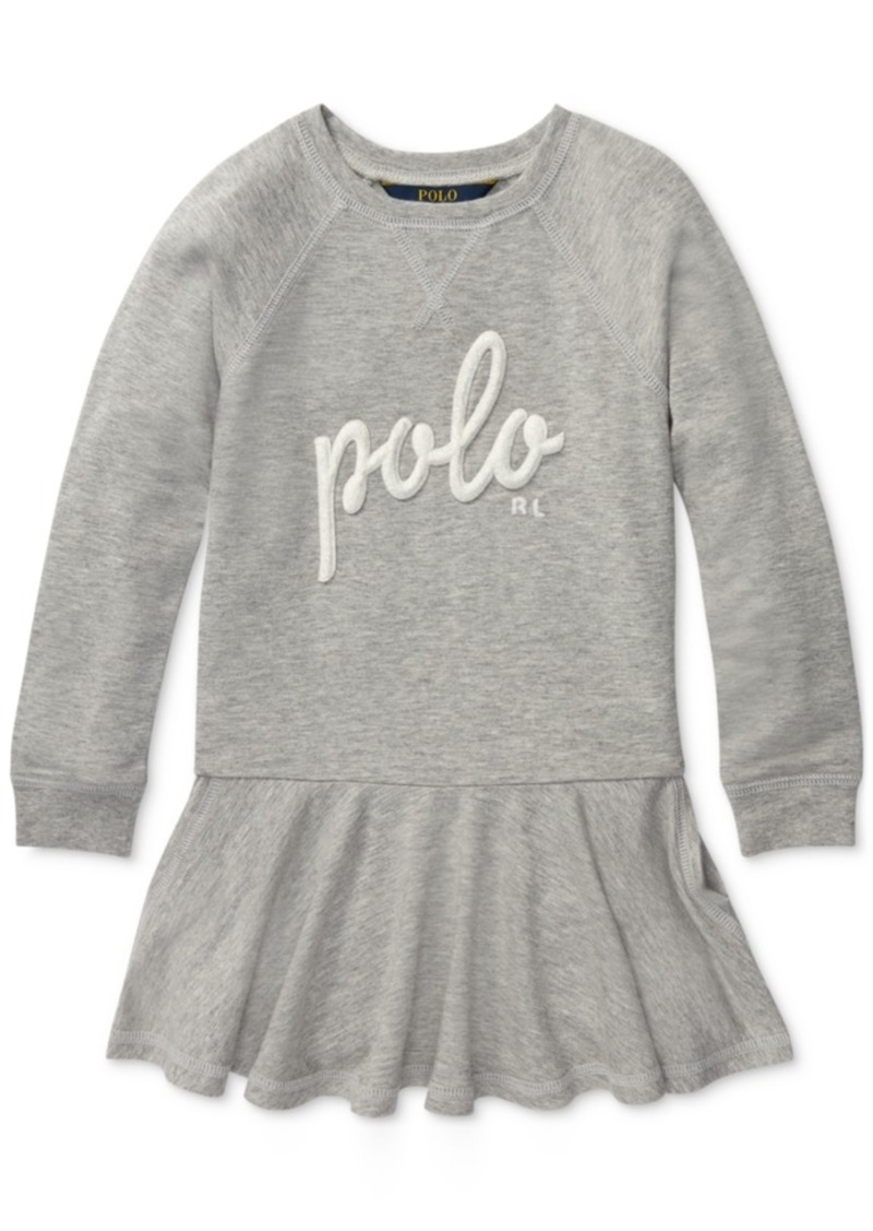 86b662957d05a Ralph Lauren: Polo Polo Ralph Lauren Toddler Girls French Terry Dress