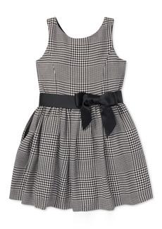 Ralph Lauren: Polo Polo Ralph Lauren Toddler Girls Glen Plaid Dress