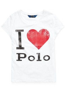 Ralph Lauren: Polo Polo Ralph Lauren Little Girls Jersey Cotton Shirt