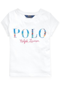 Ralph Lauren: Polo Polo Ralph Lauren Little Girls Logo T-Shirt
