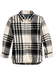 Ralph Lauren: Polo Polo Ralph Lauren Toddler Girl's Plaid Cotton Twill Tunic