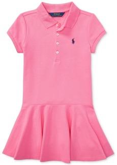 Ralph Lauren: Polo Polo Ralph Lauren Toddler Girls Polo Dress