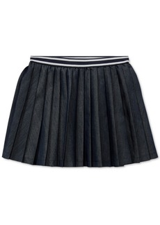Ralph Lauren: Polo Polo Ralph Lauren Toddler Girls Pleated Twill Skirt
