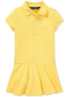 Ralph Lauren: Polo Polo Ralph Lauren Little Girls Polo Dress