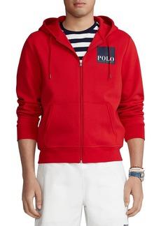 Ralph Lauren Polo Polo Ralph Lauren Logo Double Knit Hoodie