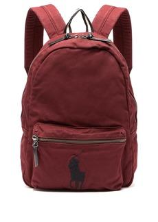 Ralph Lauren Polo Polo Ralph Lauren Logo-embroidered canvas backpack
