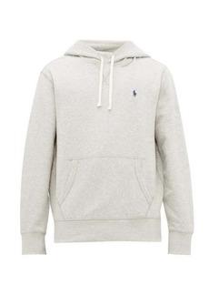 Ralph Lauren Polo Polo Ralph Lauren Logo-embroidered cotton-blend hooded sweatshirt