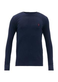 Ralph Lauren Polo Polo Ralph Lauren Logo-embroidered cotton-blend long-sleeved T-shirt