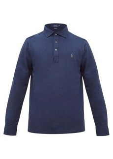 Ralph Lauren Polo Polo Ralph Lauren Logo-embroidered cotton-blend piqué polo shirt