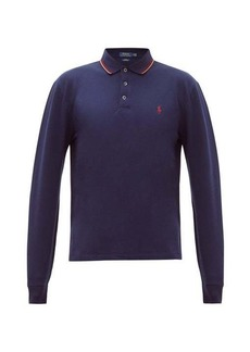 Ralph Lauren Polo Polo Ralph Lauren Logo-embroidered cotton-blend polo shirt