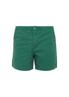 Ralph Lauren Polo Polo Ralph Lauren Logo-embroidered cotton-blend twill shorts