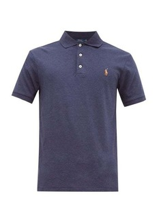 Ralph Lauren Polo Polo Ralph Lauren Logo-embroidered cotton-jersey polo shirt