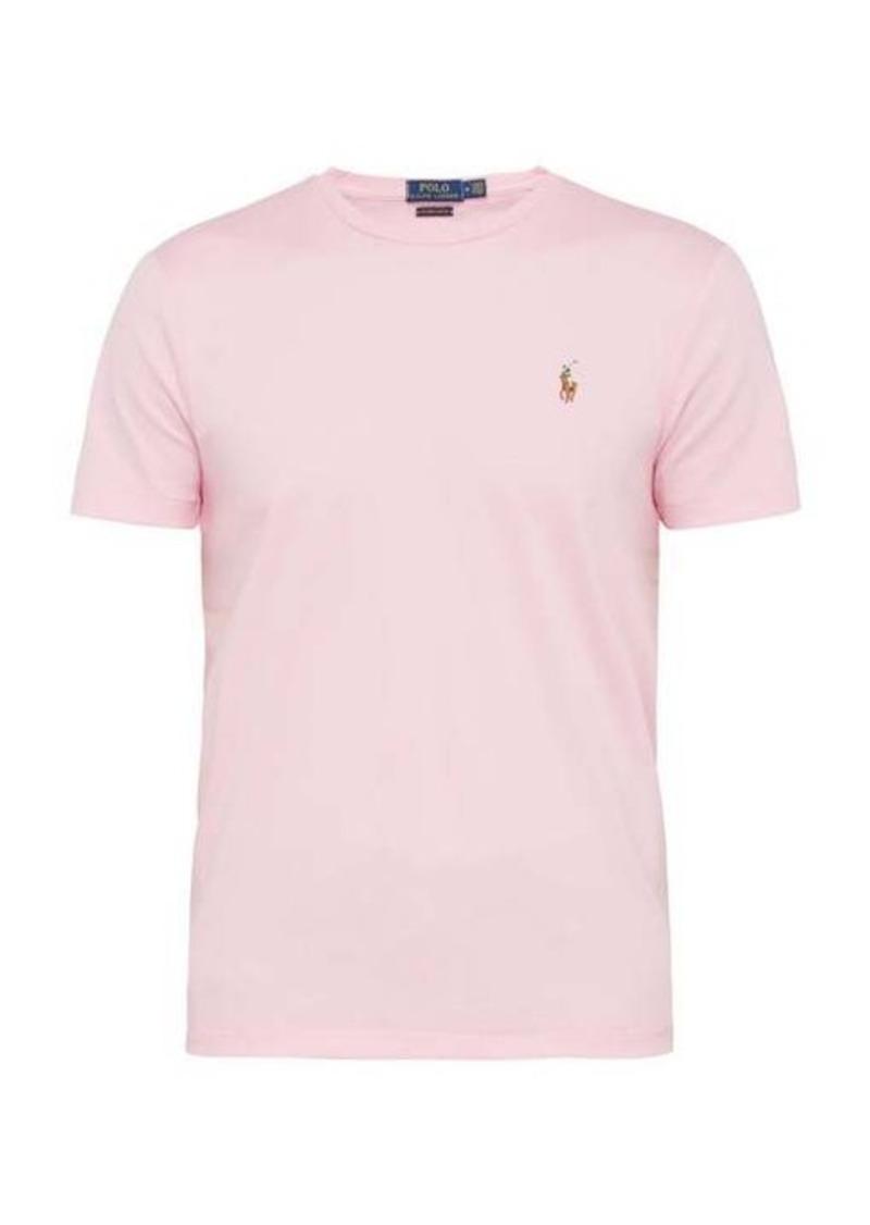Ralph Lauren Polo Polo Ralph Lauren Logo-embroidered cotton-jersey T-shirt