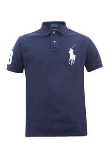 Ralph Lauren Polo Polo Ralph Lauren Logo-embroidered cotton polo shirt