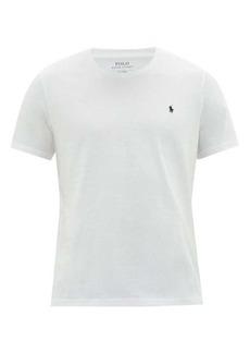 Ralph Lauren Polo Polo Ralph Lauren Logo-embroidered cotton pyjama T-shirt