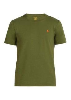 Ralph Lauren Polo Polo Ralph Lauren Logo-embroidered cotton T-shirt