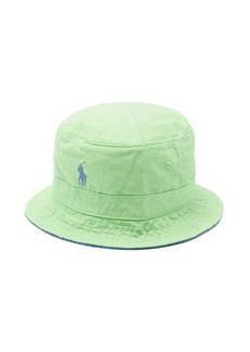 Ralph Lauren Polo Polo Ralph Lauren Logo-embroidered cotton-twill bucket hat
