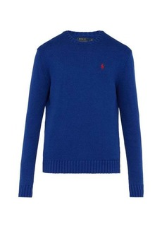 Ralph Lauren Polo Polo Ralph Lauren Logo-embroidered knitted-cotton sweater