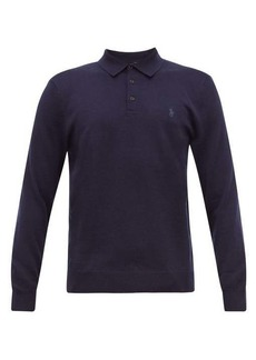 Ralph Lauren Polo Polo Ralph Lauren Logo-embroidered merino-wool polo shirt