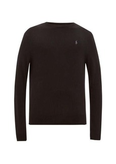 Ralph Lauren Polo Polo Ralph Lauren Logo-embroidered merino-wool sweater