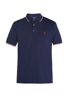 Ralph Lauren Polo Polo Ralph Lauren Logo-embroidered stretch-cotton piqué polo shirt
