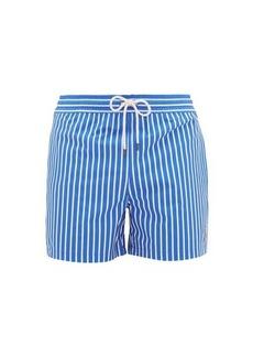 Ralph Lauren Polo Polo Ralph Lauren Logo-embroidered striped swim shorts