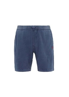 Ralph Lauren Polo Polo Ralph Lauren Logo-embroidered washed cotton-jersey shorts