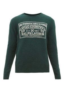 Ralph Lauren Polo Polo Ralph Lauren Logo-intarsia wool-blend sweater