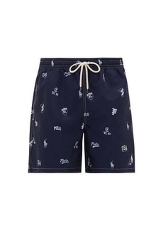 Ralph Lauren Polo Polo Ralph Lauren Logo-print swim shorts