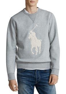 Ralph Lauren Polo Polo Ralph Lauren Logo Roundneck Sweatshirt