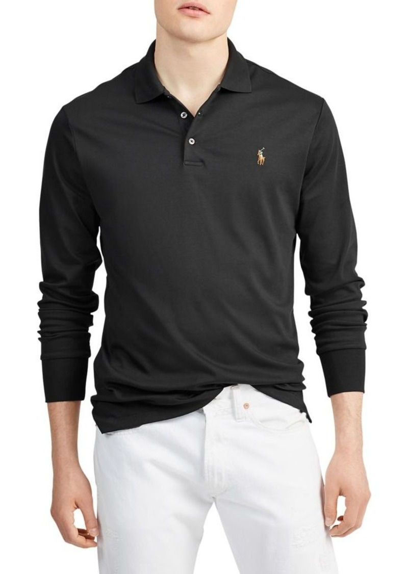 Ralph Lauren Polo Polo Ralph Lauren Long-Sleeve Cotton Polo