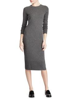 Ralph Lauren: Polo Polo Ralph Lauren Long Sleeve Crewneck Dress