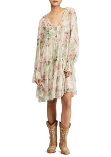 Ralph Lauren: Polo Polo Ralph Lauren Long Sleeve Floral Alexa Dress