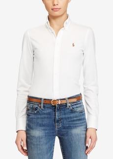 Ralph Lauren: Polo Polo Ralph Lauren Slim-Fit Button-Front Knit Shirt
